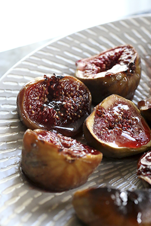Easy Honey Roasted Figs Credit Laura's Mess