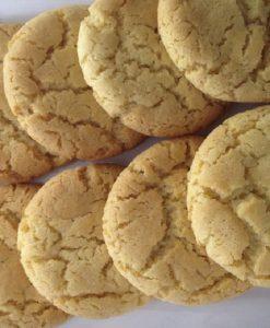 Coconut Honey Spelt Biscuits